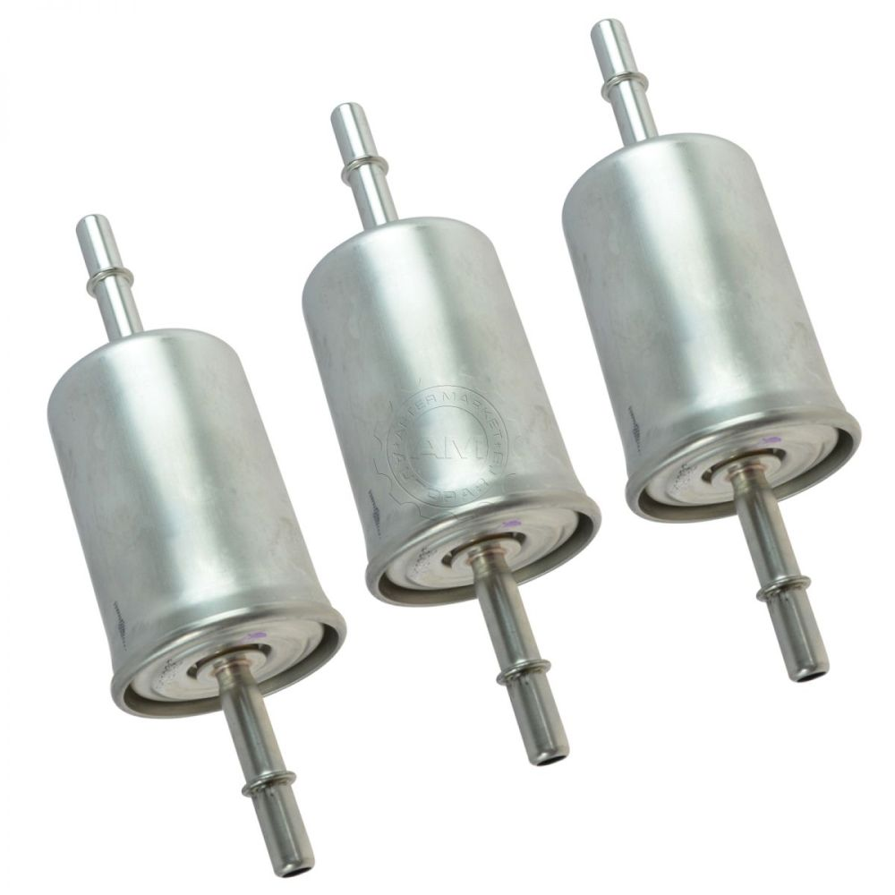 medium resolution of motorcraft fg1083 fuel filter in line set of 3 for ford lincoln mercury new