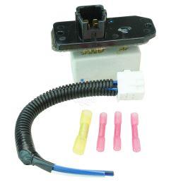 dorman blower motor resistor with harness repair kit for 98 02 toyota corolla [ 1200 x 1200 Pixel ]