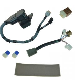 oem 999t8br020 complete 7 pin plug play tow harness kit for nissan frontier [ 1200 x 1200 Pixel ]