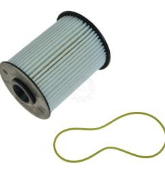mopar 68001914ab diesel fuel filter for 00 09 dodge ram 2500 3500 l6 5 9l [ 1200 x 1200 Pixel ]