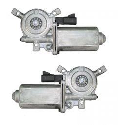 power window motors pair set for chevy pontiac olds malibu venture montana van [ 1200 x 1200 Pixel ]