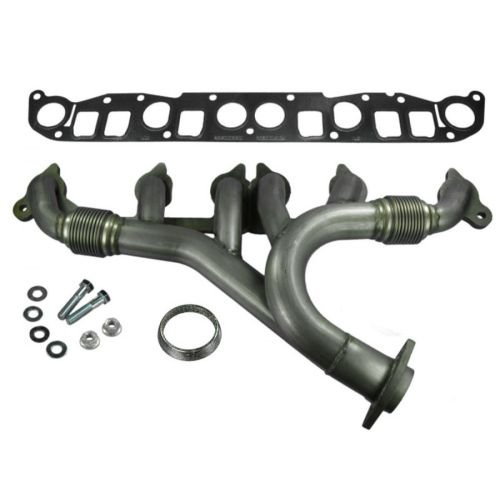 small resolution of dorman stainless exhaust manifold w gasket for jeep wrangler grand cherokee
