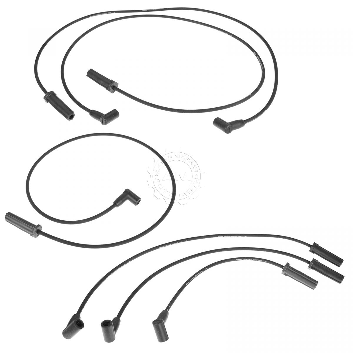 AC Delco 9746BB Spark Plug Ignition Wire Set of 6 for