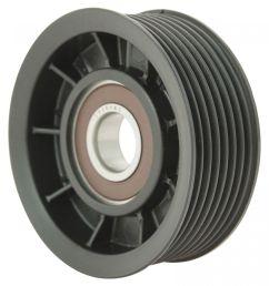 hemi serpentine belt idler pulley grooved for 03 08 dodge ram pickup truck 5 7l [ 1200 x 1200 Pixel ]