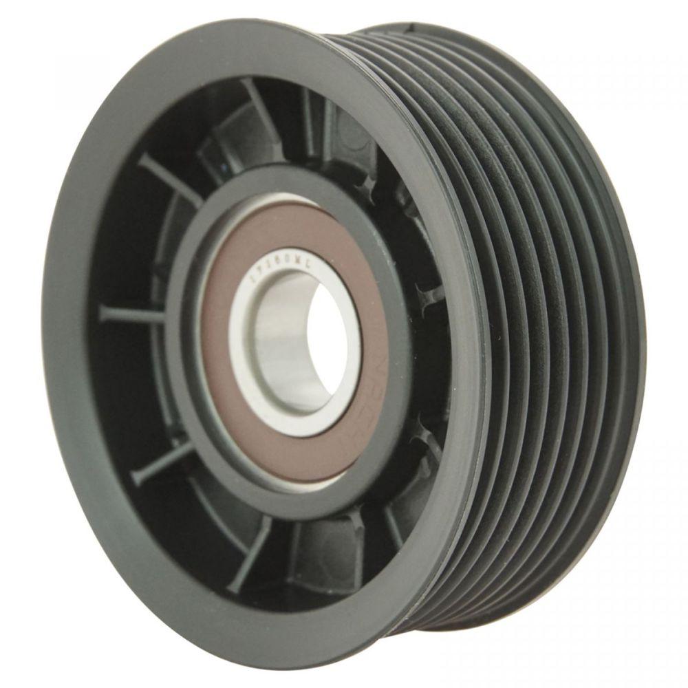 medium resolution of hemi serpentine belt idler pulley grooved for 03 08 dodge ram pickup truck 5 7l