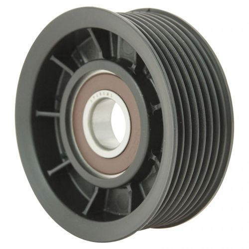 small resolution of hemi serpentine belt idler pulley grooved for 03 08 dodge ram pickup truck 5 7l
