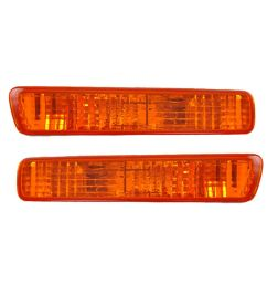 front side marker parking turn signal corner lights pair set for 94 95 accord [ 1200 x 1200 Pixel ]
