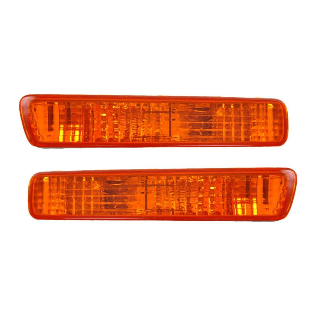 medium resolution of front side marker parking turn signal corner lights pair set for 94 95 accord