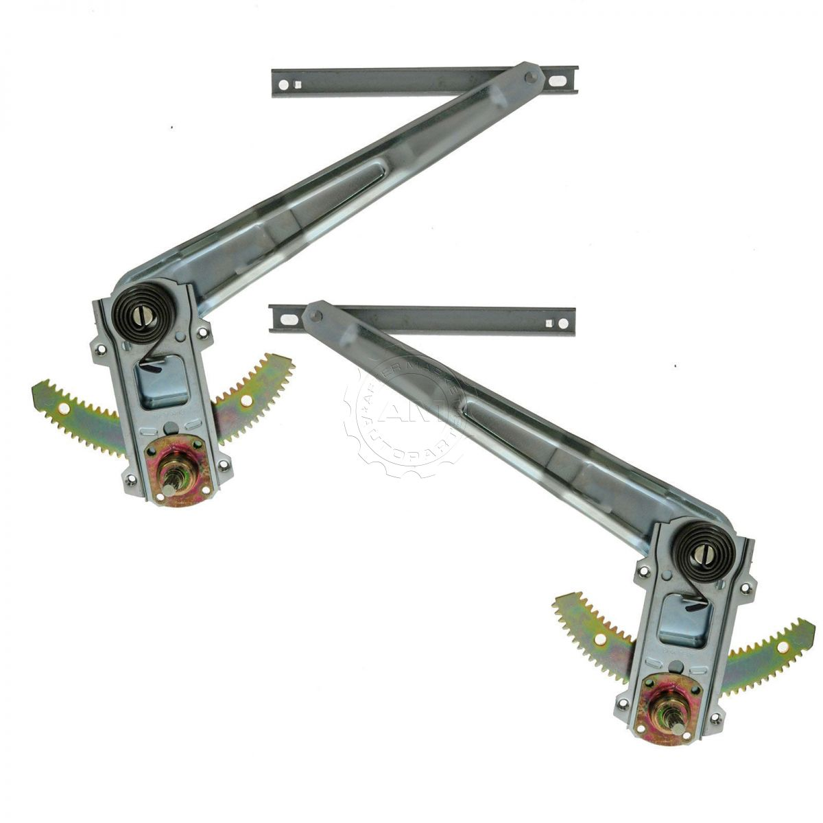 hight resolution of dorman front manual window regulator pair for isuzu amigo rodeo pup pickup truck