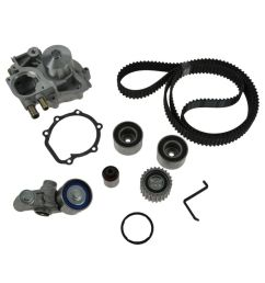gates timing belt w water pump kit for subaru legacy impreza forester turbo [ 1200 x 1200 Pixel ]