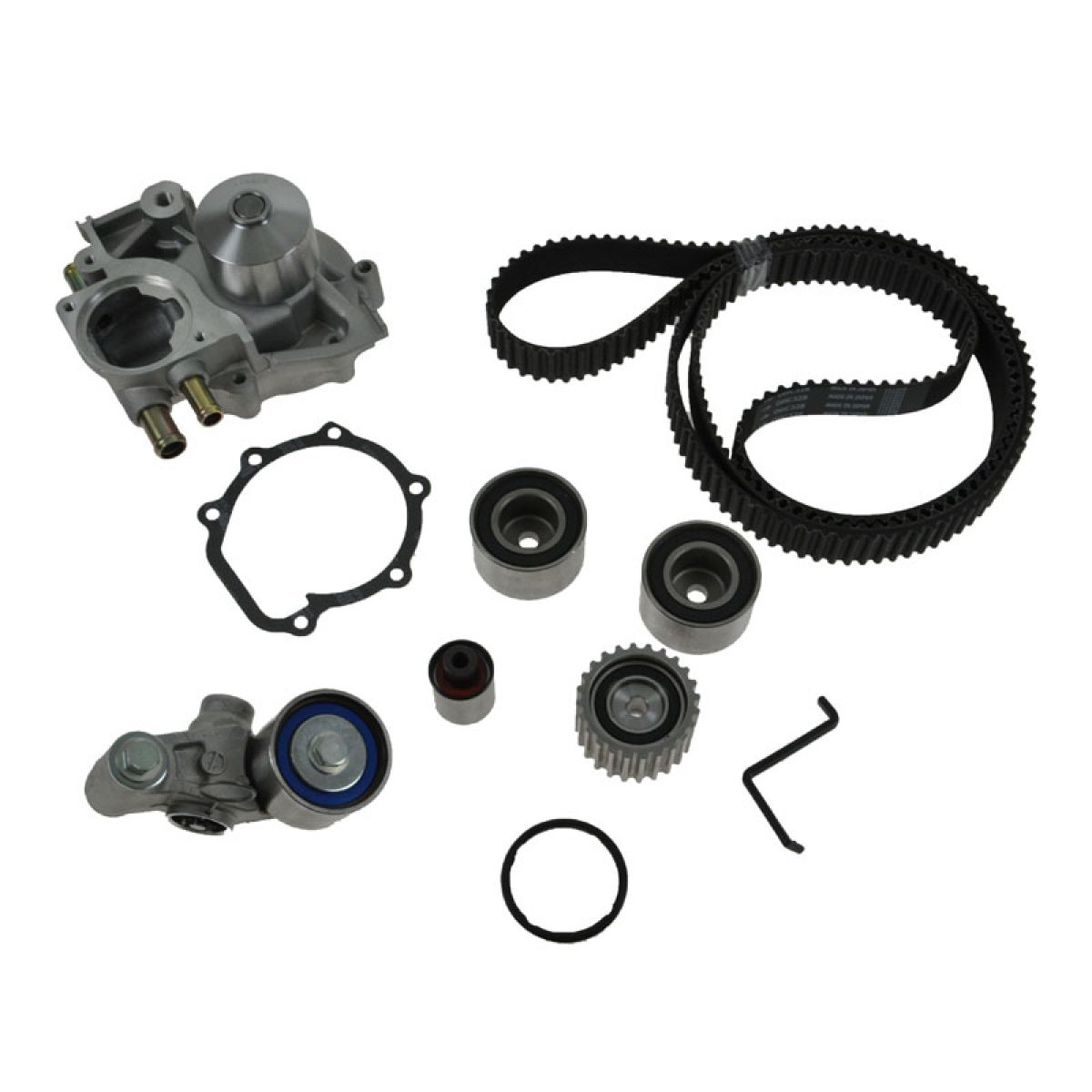 hight resolution of gates timing belt w water pump kit for subaru legacy impreza forester turbo