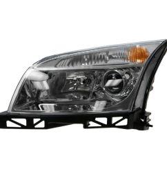headlight headlamp driver side left lh new for 06 09 mercury milan [ 1200 x 1200 Pixel ]