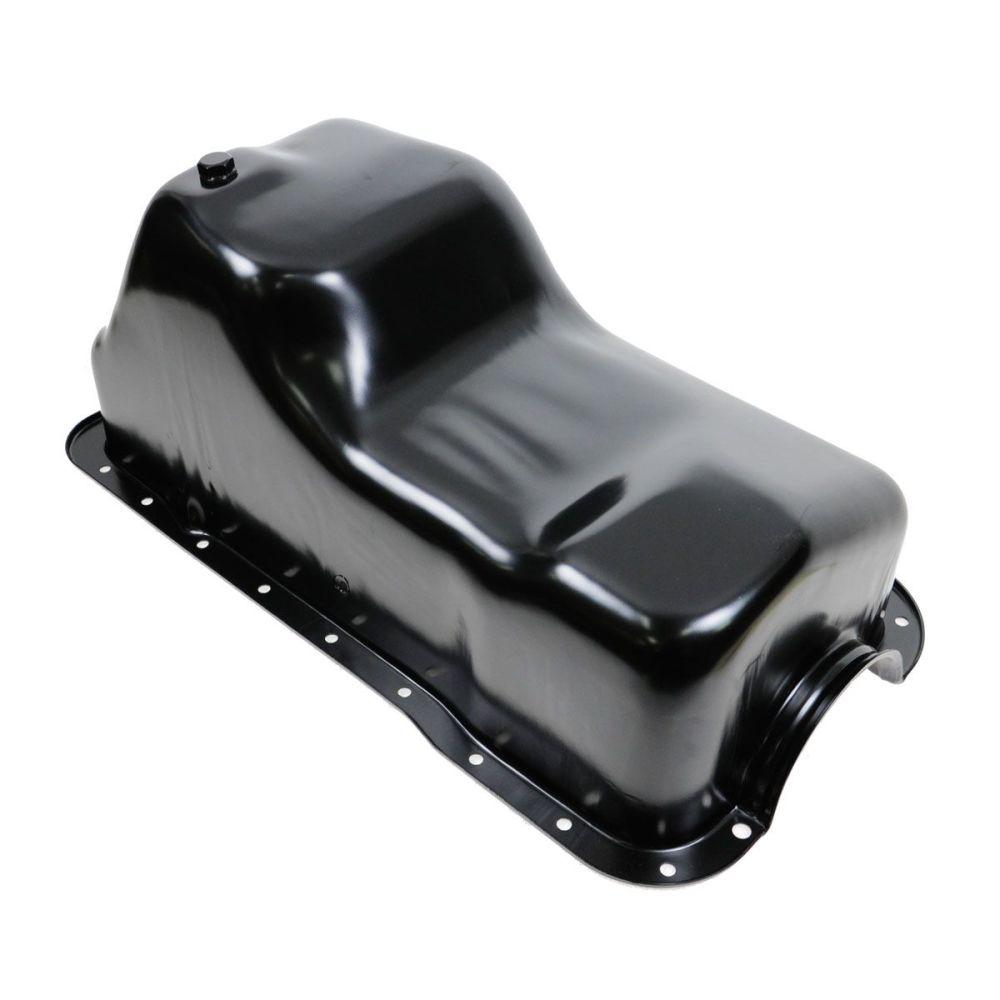 medium resolution of engine oil pan new for ford bronco f series pickup truck econoline van 5 8l v8