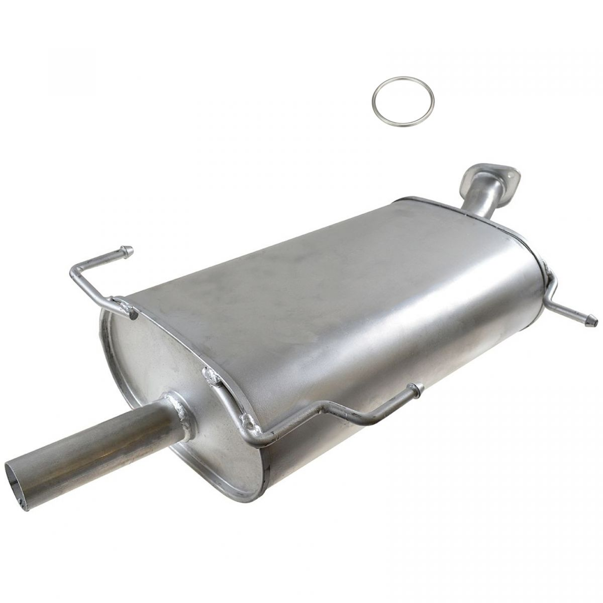 hight resolution of rear exhaust muffler section with gasket new for i30 maxima v6 3 0l