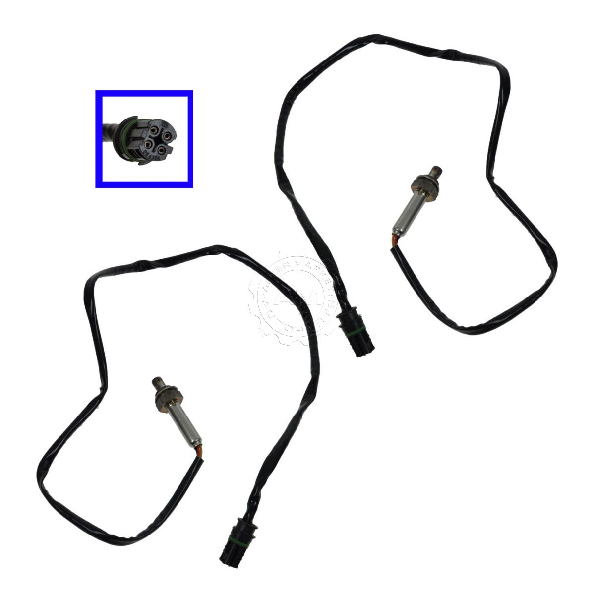 Walker Upstream Amp Downstream O2 Oxygen Sensor Pair For Bmw