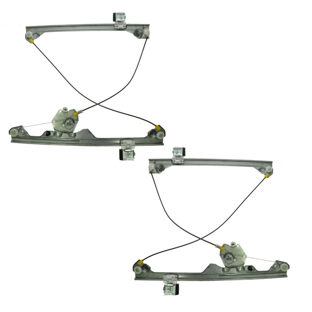 Window Regulators Manual Left & Right Pair Set for Chevy