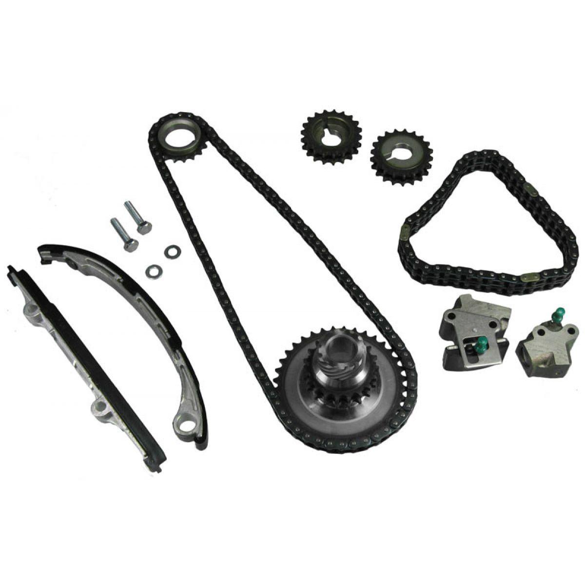 KA24DE 2.4L Complete Timing Chain Kit Set For 91-98 Nissan