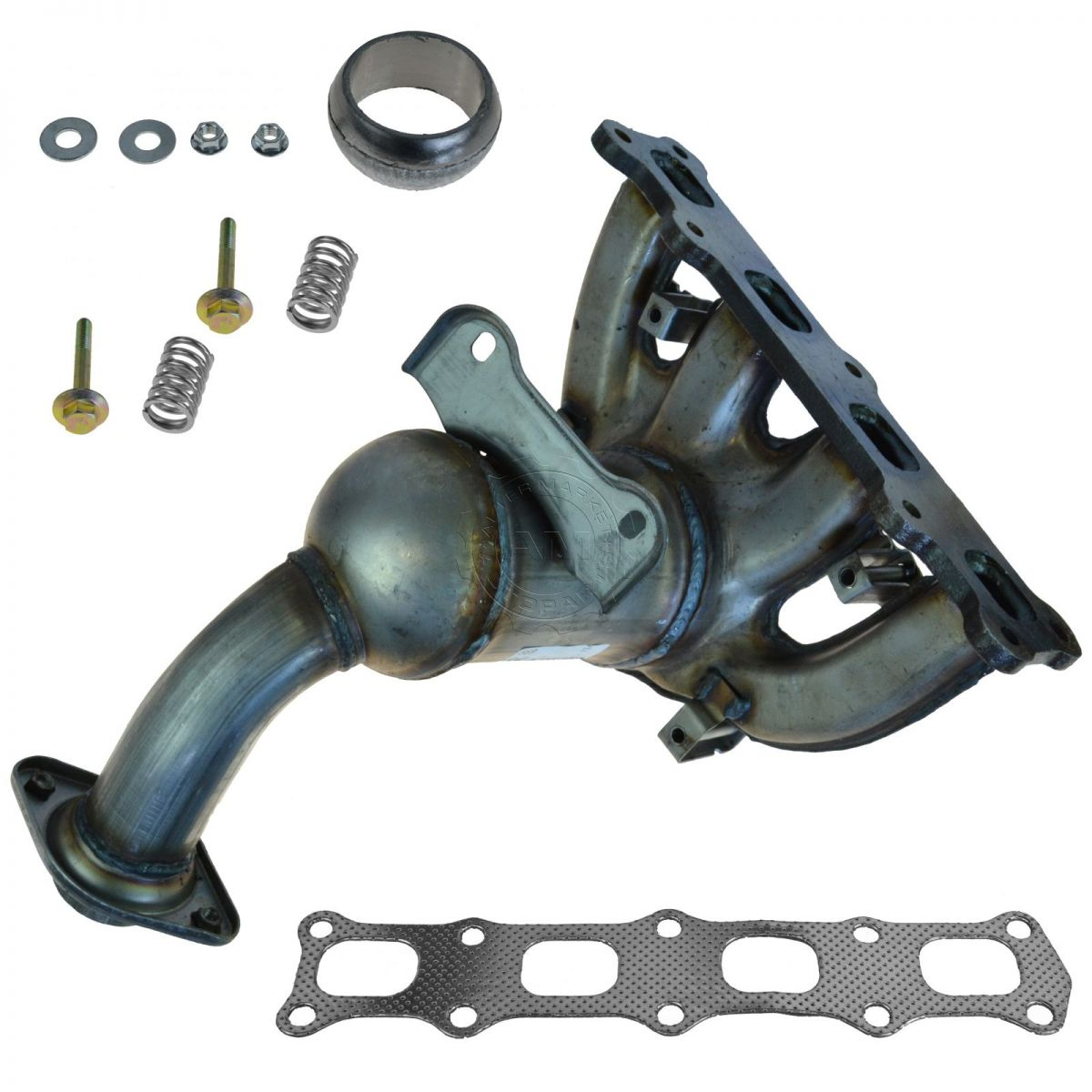 hight resolution of dorman exhaust manifold catalytic converter assembly for caliber compass patriot