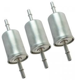 motorcraft fg1083 fuel filter in line set of 3 for ford lincoln mercury new [ 1200 x 1200 Pixel ]
