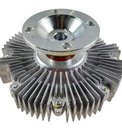 radiator cooling fan clutch for toyota tundra sequoia 4runner lexus gx470 [ 1200 x 1200 Pixel ]