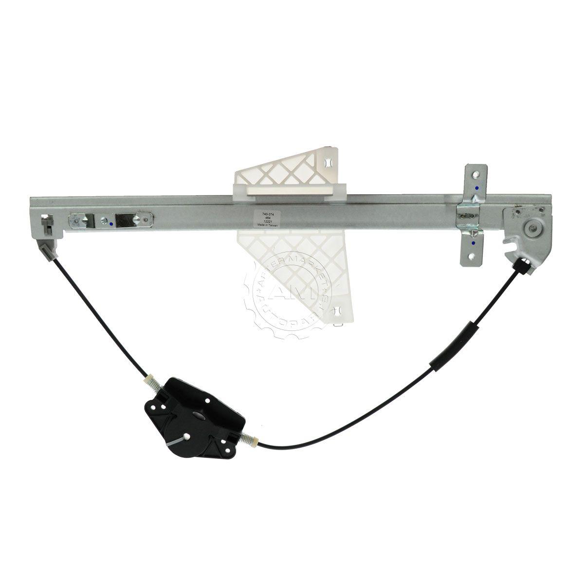 hight resolution of rear door power window regulator driver side left lh for 01 04 grand cherokee
