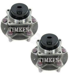 timken ha590096 wheel bearing hub front left right pair for mazda rx 8 rx8 [ 1200 x 1200 Pixel ]