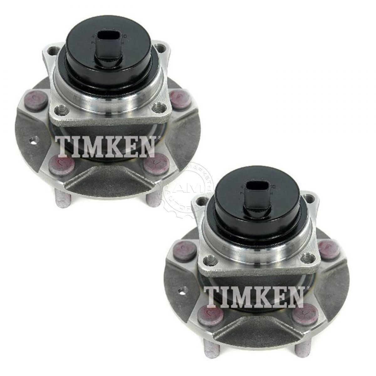 hight resolution of timken ha590096 wheel bearing hub front left right pair for mazda rx 8 rx8