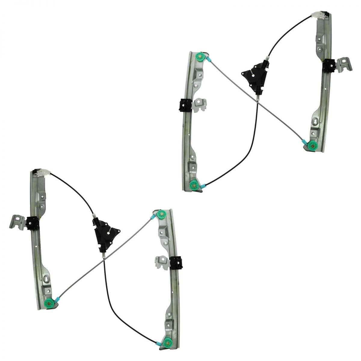 Power Window Regulator Front Pair Set of 2 LH & RH for 07
