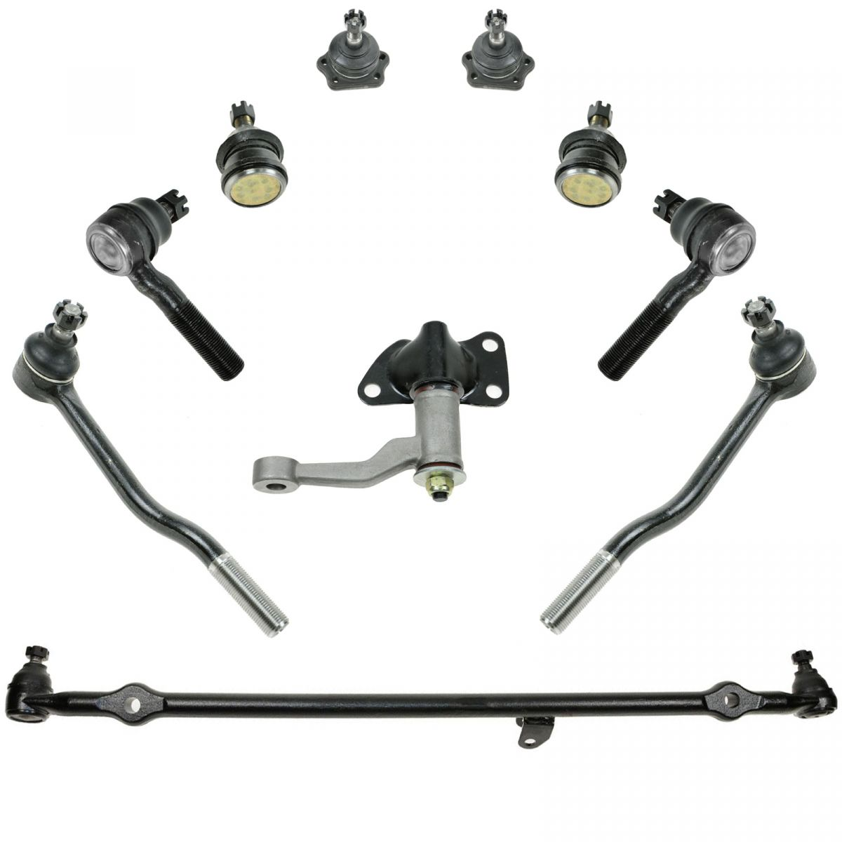 10 Piece Front Suspension Kit for 86-97 Nissan D21
