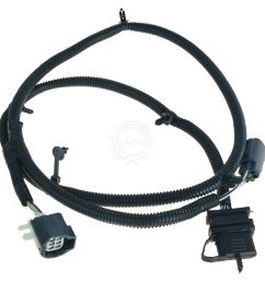 oem 68064400aa 4 way tow trailer plug in wiring harness for 11 15 jeep wrangler [ 1200 x 1200 Pixel ]