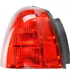 taillight taillamp brake light lamp left driver side rear for 03 11 town car [ 1200 x 1200 Pixel ]