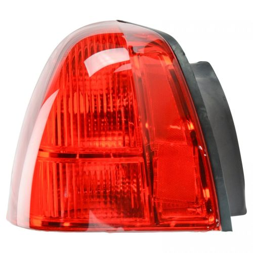 small resolution of taillight taillamp brake light lamp left driver side rear for 03 11 town car