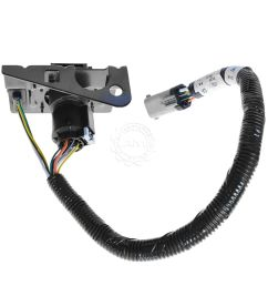 ford 4 7 pin trailer tow wiring harness w plug bracket for f250 nissan titan trailer wiring harness ford f350 trailer wiring harness [ 1200 x 1200 Pixel ]