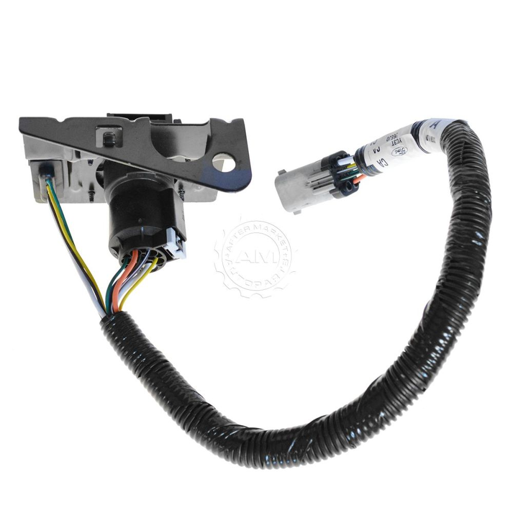 medium resolution of ford 4 7 pin trailer tow wiring harness w plug bracket for f250 nissan titan trailer wiring harness ford f350 trailer wiring harness