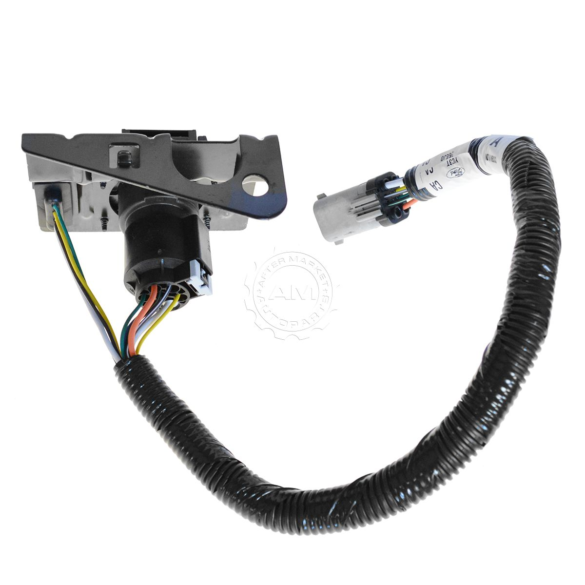 hight resolution of ford 4 7 pin trailer tow wiring harness w plug bracket for f250
