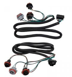 tail light lamp wiring harness lh rh pair for chevy silverado pickup truck new [ 1200 x 1200 Pixel ]
