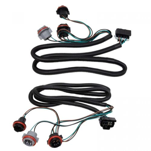 small resolution of tail light lamp wiring harness lh rh pair for chevy silverado pickup truck new