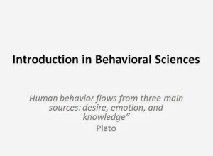 Behavioral science – lectures (word & pdf)