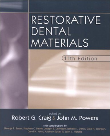 Restorative Dental Materials 11th Edition PDF