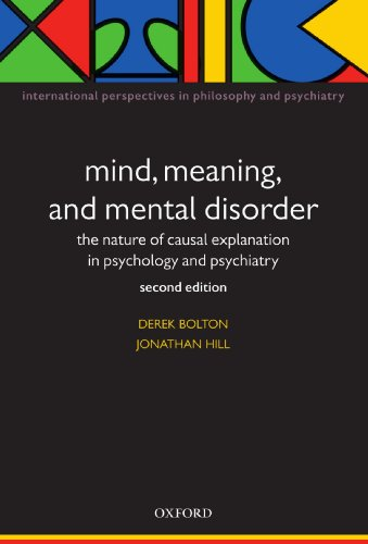 Mind Meaning and Mental Disorder PDF