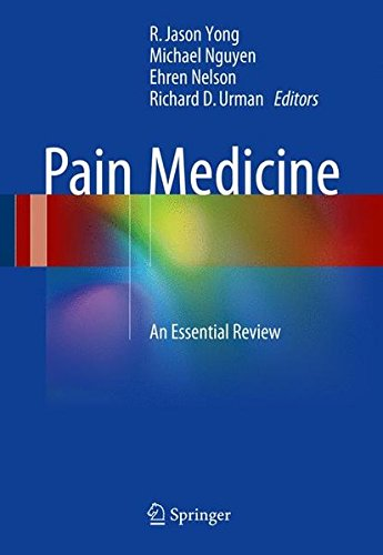 Pain Medicine An Essential Review 1st PDF
