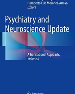 Psychiatry and Neuroscience Update – Vol. II PDF