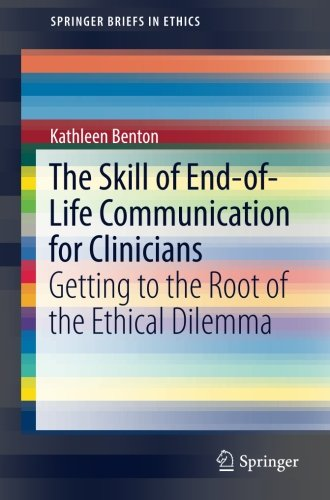 The Skill of End-of-Life Communication for Clinicians PDF