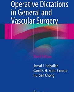 Operative Dictations in General and Vascular Surgery 3rd Edition PDF