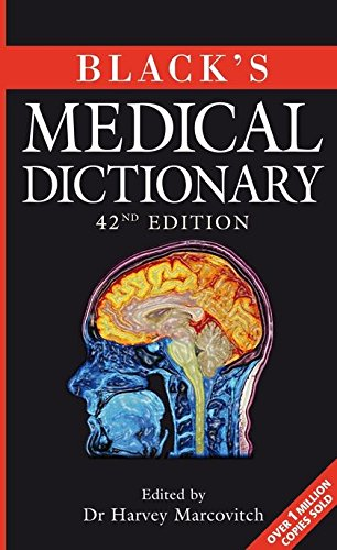 Black's Medical Dictionary 42nd Edition PDF