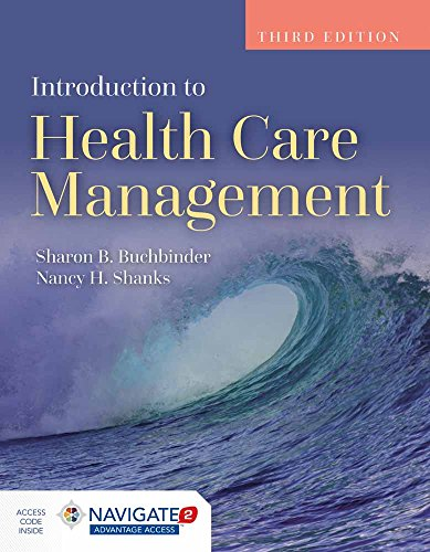Introduction to Health Care Management 3rd Edition PDF