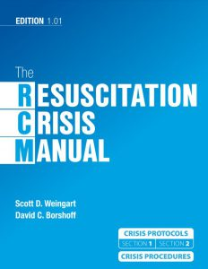 The Resuscitation Crisis Manual Book