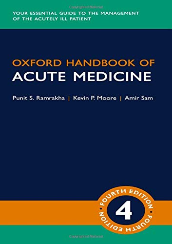Oxford Handbook of Acute Medicine 4th Edition PDF