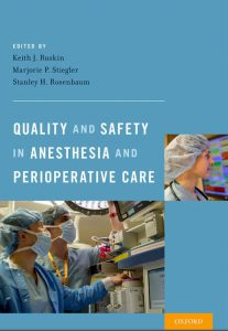 Quality and Safety in Anesthesia and Perioperative Care PDF