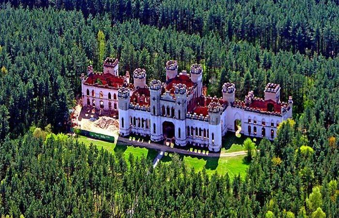 замки белоруссии